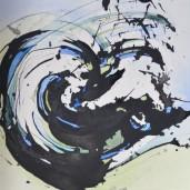 éric-georges michel – petit registre psychographique du doute (encres) – A6